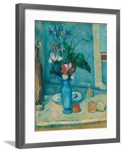 The Blue Vase (Le Vase Ble)-Paul C?zanne-Framed Art Print