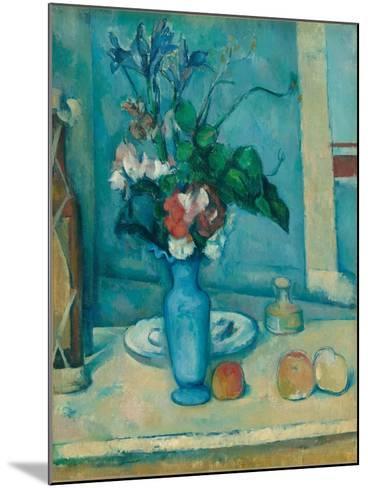 The Blue Vase (Le Vase Ble)-Paul C?zanne-Mounted Giclee Print