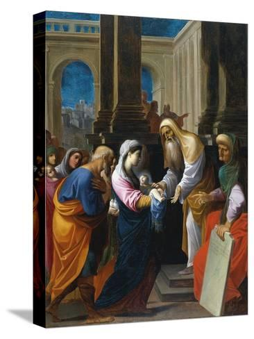 The Presentation in the Temple-Lodovico Carracci-Stretched Canvas Print