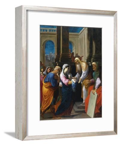 The Presentation in the Temple-Lodovico Carracci-Framed Art Print