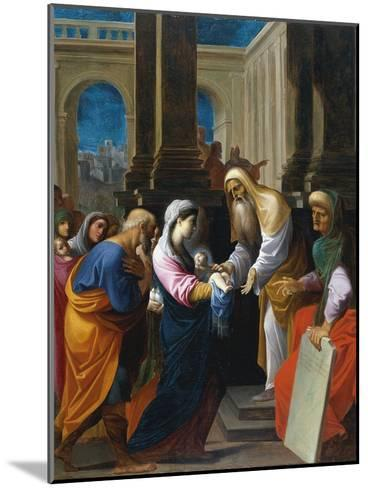 The Presentation in the Temple-Lodovico Carracci-Mounted Giclee Print