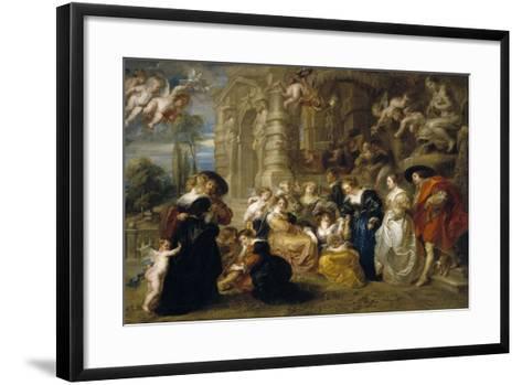 The Garden of Love, C. 1633-Peter Paul Rubens-Framed Art Print