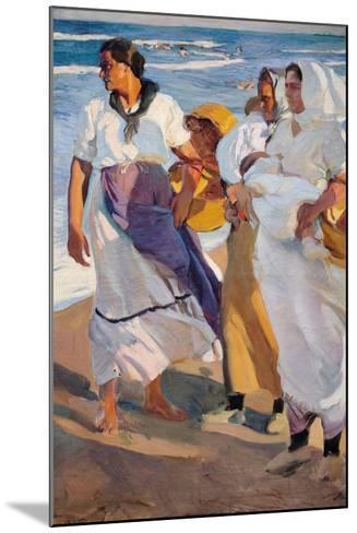 Fisherwomen from Valencia-Joaqu?n Sorolla y Bastida-Mounted Giclee Print