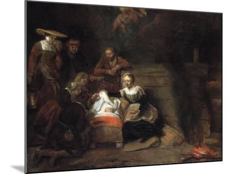 The Adoration of the Christ Child-Samuel Dirksz van Hoogstraten-Mounted Giclee Print