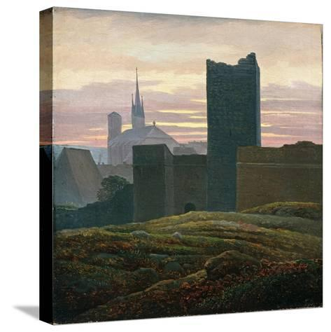 The Royal Castle of Cheb-Carl Gustav Carus-Stretched Canvas Print