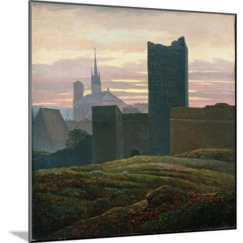 The Royal Castle of Cheb-Carl Gustav Carus-Mounted Giclee Print