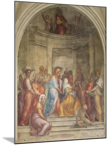 The Visitation-Pontormo-Mounted Giclee Print