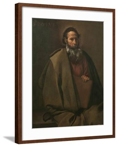 Saint Paul-Diego Velazquez-Framed Art Print