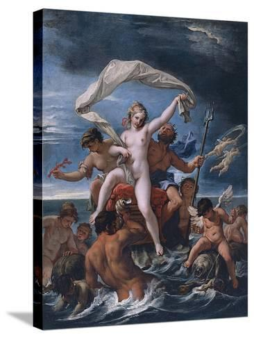 Neptune and Amphitrite-Sebastiano Ricci-Stretched Canvas Print