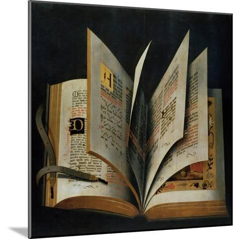 An Opened Liturgical Book--Mounted Giclee Print