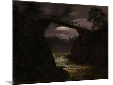 The Bridge Outside Arendal-Thomas Fearnley-Mounted Giclee Print
