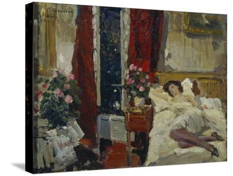 In the Room-Konstantin Alexeyevich Korovin-Stretched Canvas Print