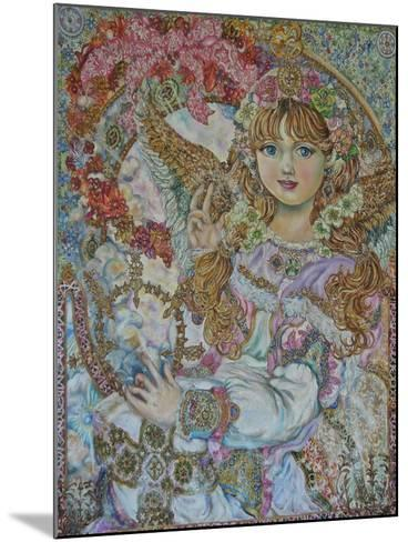 The Christmas Angel-Yumi Sugai-Mounted Giclee Print