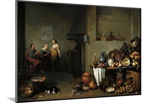 Christ in the House of Martha and Mary-Pieter De Bloot-Mounted Giclee Print