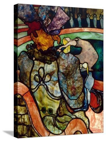 Papa Chrysanth?me at the New Circus-Henri de Toulouse-Lautrec-Stretched Canvas Print