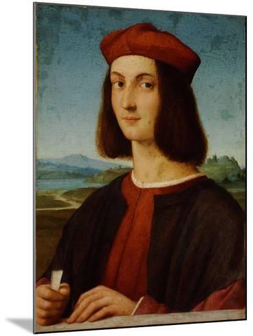 Portrait of Pietro Bembo-Raphael-Mounted Giclee Print