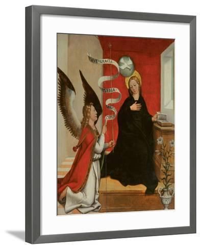 The Annunciation-Francisco de Comontes-Framed Art Print