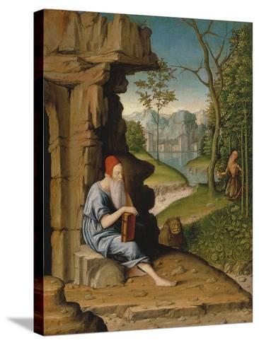 Saint Jerome in the Desert-Bartolomeo Montagna-Stretched Canvas Print