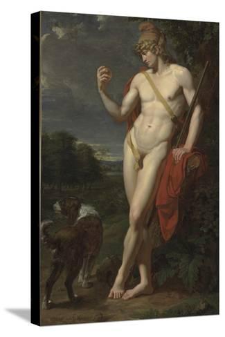 The Shepherd Paris-Jean-Baptiste Frédéric Desmarais-Stretched Canvas Print