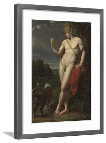 The Shepherd Paris-Jean-Baptiste Frédéric Desmarais-Framed Art Print