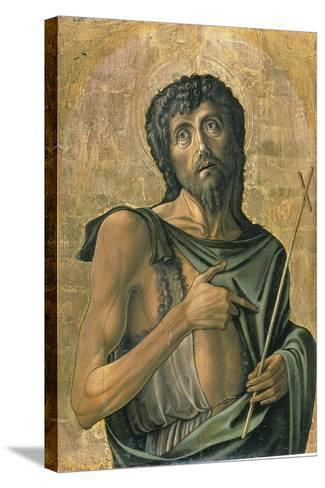 Saint John the Baptist-Alvise Vivarini-Stretched Canvas Print