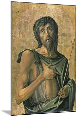 Saint John the Baptist-Alvise Vivarini-Mounted Giclee Print