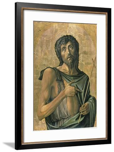 Saint John the Baptist-Alvise Vivarini-Framed Art Print