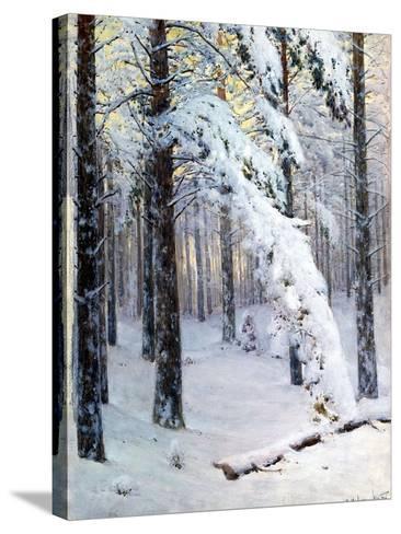 Winter Forest-Konstantin Yakovlevich Kryzhitsky-Stretched Canvas Print