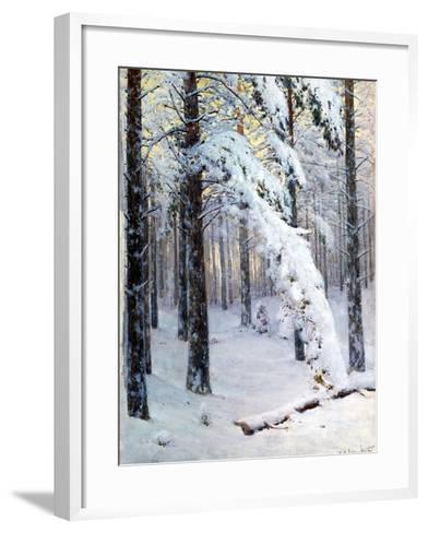 Winter Forest-Konstantin Yakovlevich Kryzhitsky-Framed Art Print