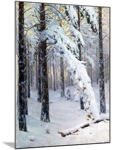 Winter Forest-Konstantin Yakovlevich Kryzhitsky-Mounted Giclee Print