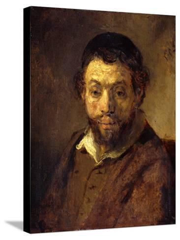 Portrait of a Young Jew-Rembrandt van Rijn-Stretched Canvas Print