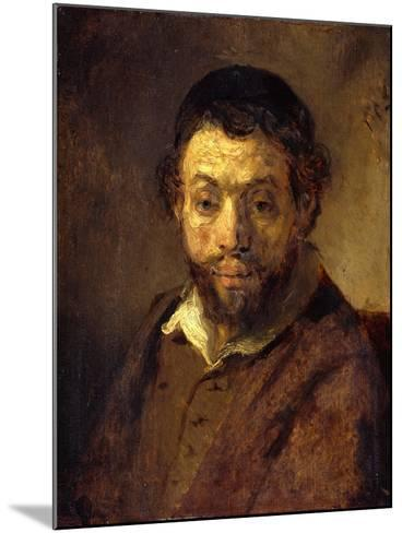 Portrait of a Young Jew-Rembrandt van Rijn-Mounted Giclee Print