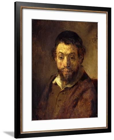 Portrait of a Young Jew-Rembrandt van Rijn-Framed Art Print