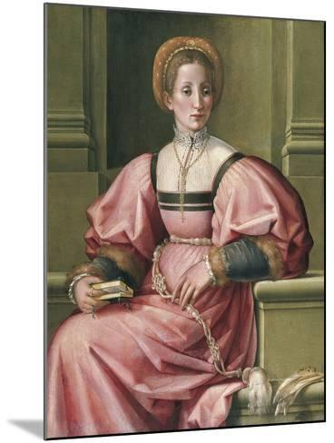 Portrait of a Lady-Pier Francesco di Jacopo Foschi-Mounted Giclee Print
