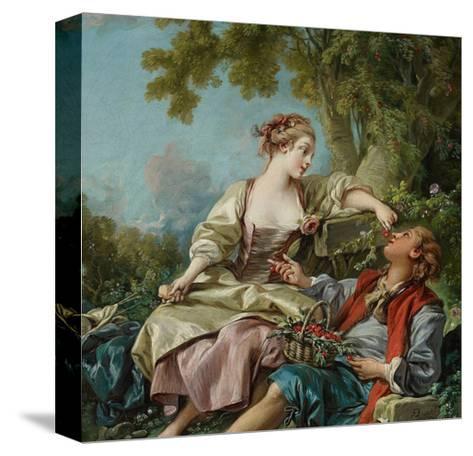 The Wooden Shoes (Les Sabot), 1768-Fran?ois Boucher-Stretched Canvas Print