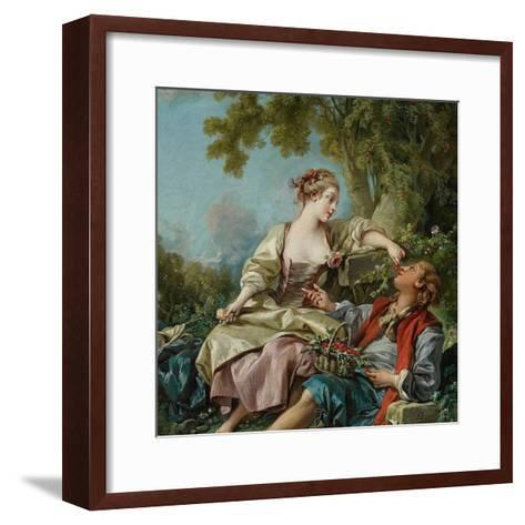 The Wooden Shoes (Les Sabot), 1768-Fran?ois Boucher-Framed Art Print