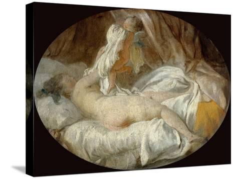 La Chemise Enlevée (The Shirt Remove)-Jean-Honor? Fragonard-Stretched Canvas Print