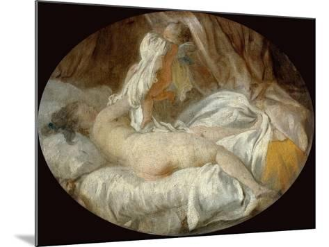 La Chemise Enlevée (The Shirt Remove)-Jean-Honor? Fragonard-Mounted Giclee Print