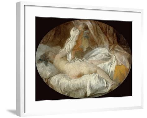 La Chemise Enlevée (The Shirt Remove)-Jean-Honor? Fragonard-Framed Art Print