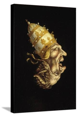 Pope-Devil--Stretched Canvas Print