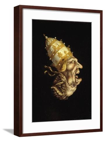 Pope-Devil--Framed Art Print