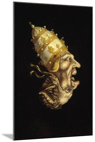 Pope-Devil--Mounted Giclee Print