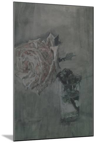 A Rose-Mikhail Alexandrovich Vrubel-Mounted Giclee Print