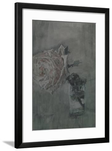 A Rose-Mikhail Alexandrovich Vrubel-Framed Art Print