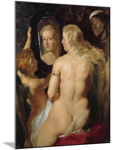 Venus at a Mirror-Peter Paul Rubens-Mounted Giclee Print