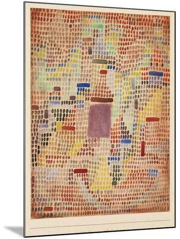 With the Entrance-Paul Klee-Mounted Giclee Print