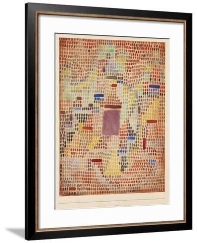 With the Entrance-Paul Klee-Framed Art Print