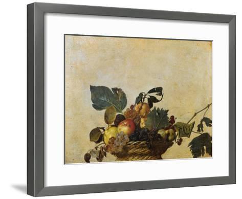 Basket of Fruit-Caravaggio-Framed Art Print