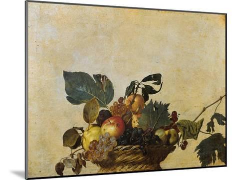 Basket of Fruit-Caravaggio-Mounted Giclee Print