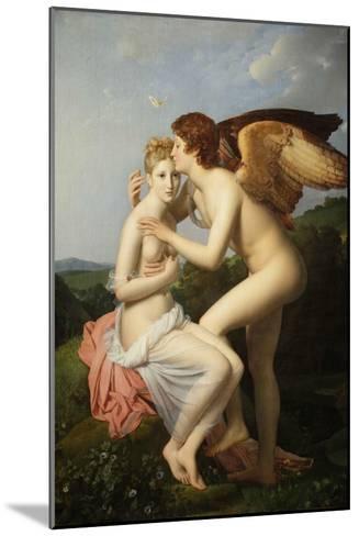 Cupid and Psyche-Fran?ois Pascal Simon G?rard-Mounted Giclee Print